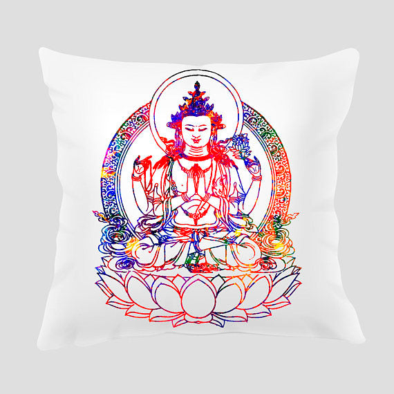 Buddha  Pillow Cover