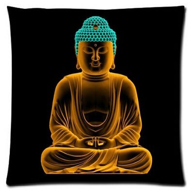 Golden Lords Pillows - Home Decoration Modern Buddhist Living Room