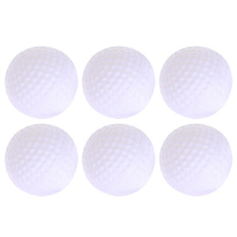 6pcs/lot Plastic Golf Practice Balls