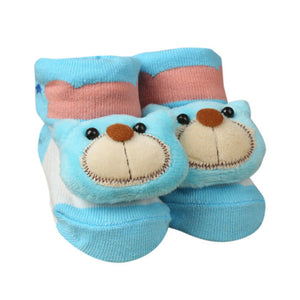 Newborn Baby Cartoon Socks, Non-slip bottoms
