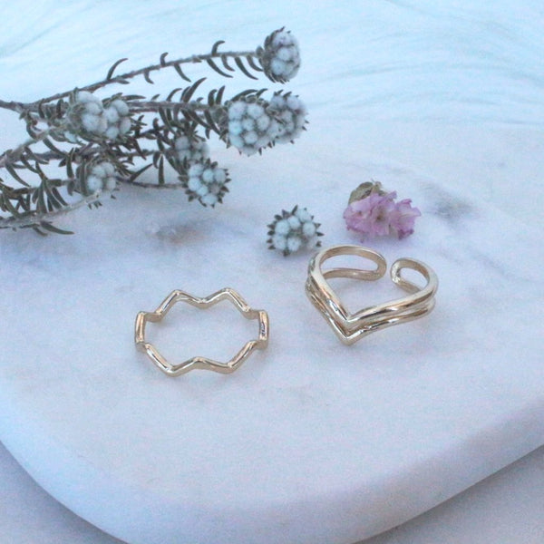 Two-Piece Ring Set (14-04AC)