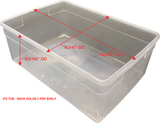 AP(375) COMBO ECONOMY - MEDIUM TUB/JUVENILE-ADULT RACKS