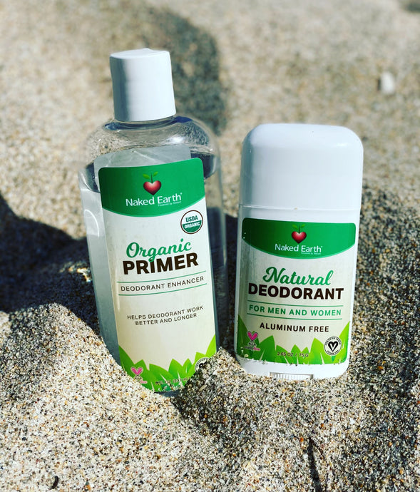 Natural Deodorant and Organic Primer! The Perfect Pair!