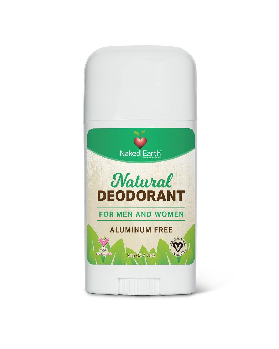 Naked Earth's Natural Deodorant for Men and Women