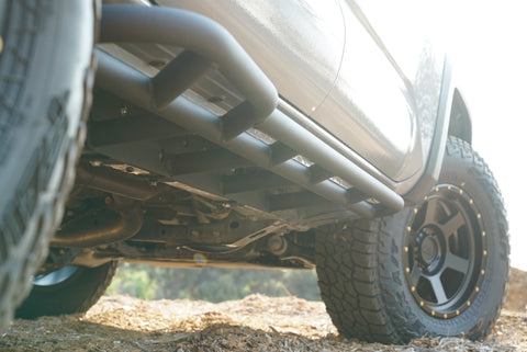 RRW 2016-2019 Toyota Tacoma Bolt-on Rock Sliders - Long Bed ONLY