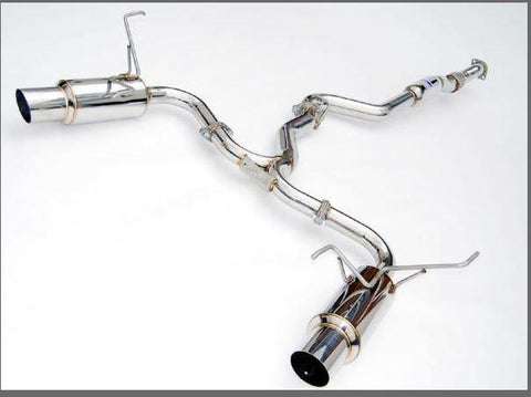 INVIDIA N1 TWIN OUTLET EXHAUST (STAINLESS STEEL TIP) - 2015+ WRX / STI
