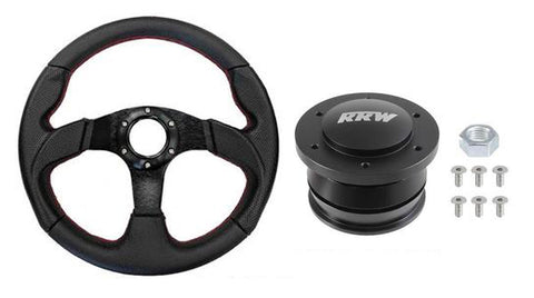 RRW RZR Quick Release Kit with 320mm Race Steering Wheel