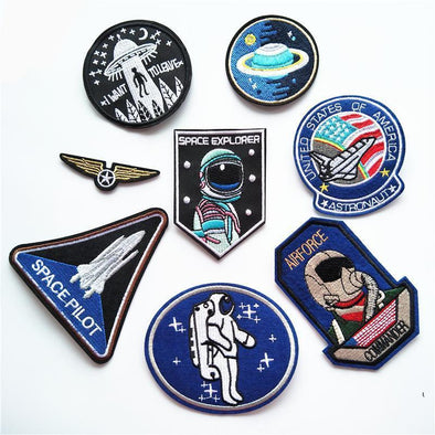Space and Astronaut Patches - BG's Cool Nerd