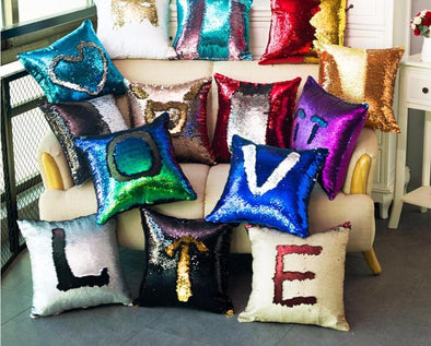 Magical Mermaid Sequin Pillow Cases - BG's Cool Nerd