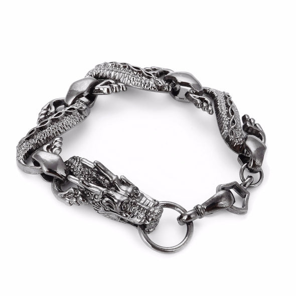 Black Fire Eternal Dragon Bracelet - BG's Cool Nerd