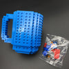 Build-On Brick Mug with Free Brick Assortment - BG's Cool Nerd