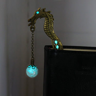 GLOWING Dragon bookmarks - BG's Cool Nerd