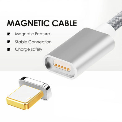 Magnetic Cable For iOS & Android Mobile Devices