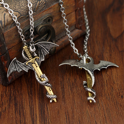 Dragon Sword Necklace - BG's Cool Nerd