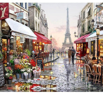 Paris Street After Fresh Rain [LIMITED PRINT] - BG's Cool Nerd