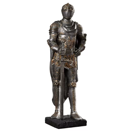 Thorp The King's Guard Half-Scale Knight Replica Statue - BG's Cool Nerd