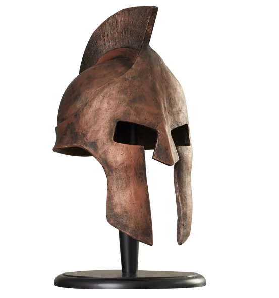 Greek Spartan Helmet Sculpture Bg S Cool Nerd