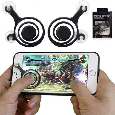 2pcs/pack Mobile Joystick Mini for Phone/Tablet Arcade Games - BG's Cool Nerd