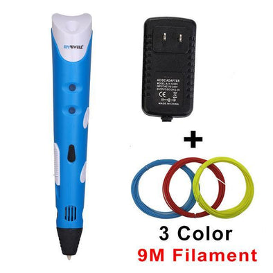 Smart 3D Drawing Pen With Free Filament Creative Gift For Kids - BG's Cool Nerd