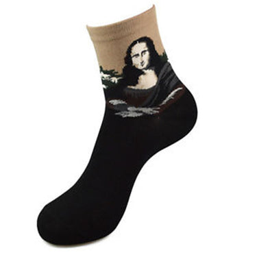 Cool Famous Art Socks - BG's Cool Nerd