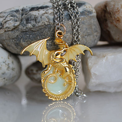 Luminous Dragon Necklace - BG's Cool Nerd