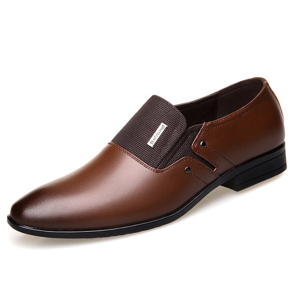 Leather Men Formal Loafers - BG's Cool Nerd