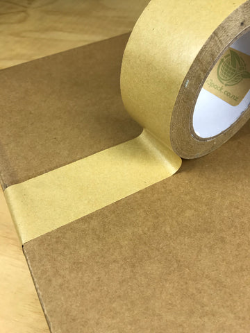 Kraft Paper Based Packaging Tape - Brown