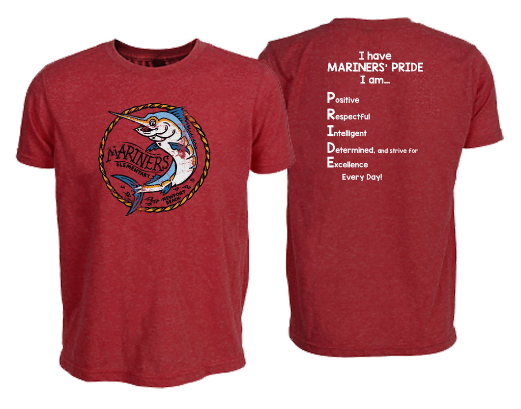 2019-2020 ADULT Mariners Pride T-Shirt