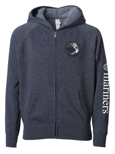 2019-2020 YOUTH Marlin Zip-up Sweatshirt