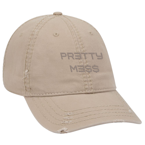 Pretty Mess Faux Suede Hat