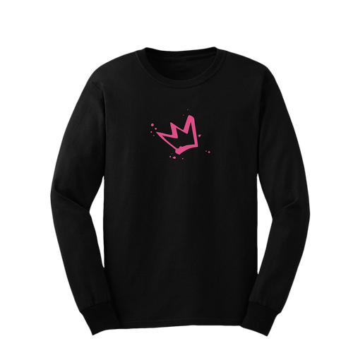 Erika Jayne Pink Crown Long Sleeve