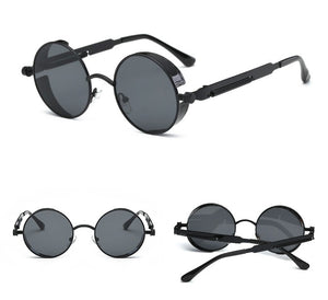 Black on Black Time Traveller Sunglasses