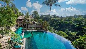 Bali Resort Overlooking The Rainforest