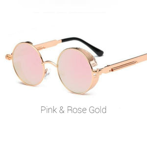 Pink & Rose Gold Sunglasses