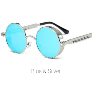 Blue & Silver Time Traveller Sunglasses