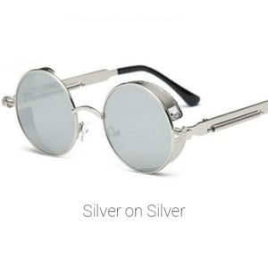 Silver on Silver Time Traveller Sunglasses