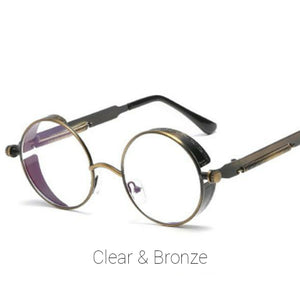 Clear & Bronze Time Traveller Sunglasses