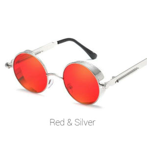 Red & Silver Time Traveller Sunglasses