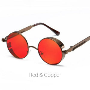 Red & Copper Time Traveller Sunglasses