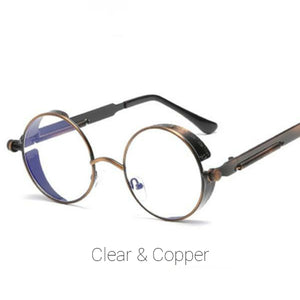 Clear & Copper Time Traveller Sunglasses