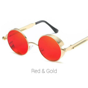 Red & Gold Time Traveller Sunglasses