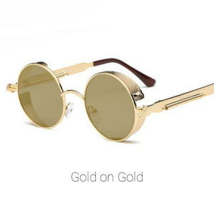 Gold on Gold Time Traveller Sunglasses