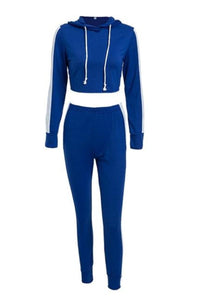 Sabrina Track Suit in Blue