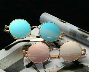 Blue & Gold + Pink & Rose Gold Time Traveller Sunglasses