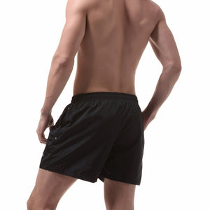 Ibiza Swim Shorts in Black model