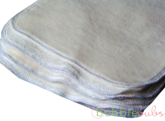 Bubblebubs Premium Bamboo Velour Reusable Wipes