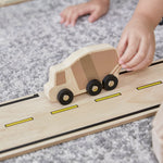 Roadway Double- Sided System - 42 pc. set.  Encourage dramatic play, construction, deconstruction, and reconstruction.