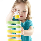 Grippies® Links - 16 Piece Set. Encourage pattern recognition and simple to complex construction concepts alongside dramatic play with the secured magnetic building pieces.