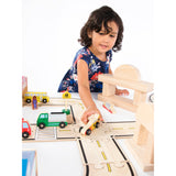 Wooden Vehicle Collection 12 Piece Set