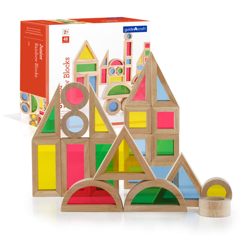 Jr Rainbow Block 40 Piece Set